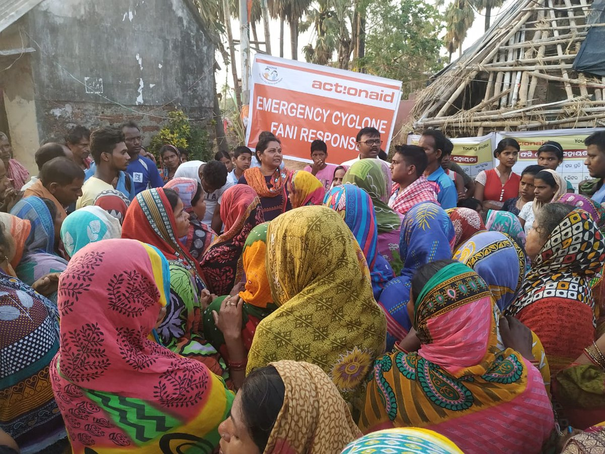 ActionAid India Provide Emergency Relief